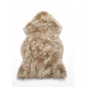 Image of   Natures Collection lammeskin - Taupe sheepskin NZ (90x60 cm)