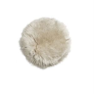 Image of   Natures Collection sædebetræk - Linen seat cover New Zealand sheepskin