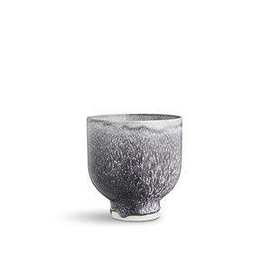 Kähler skjuler - Unico urtepotte i grå 13,5 cm