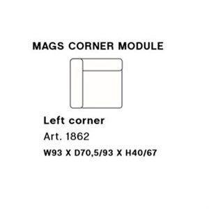 Image of   HAY - Mags modul sofa - Venstre hjørnemodul - Art. 1862