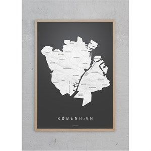Billede af Martin Moore - plakat A3- København koks