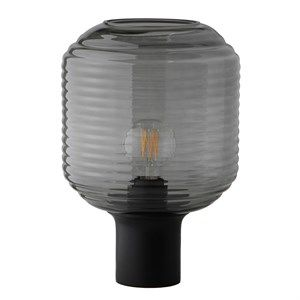 Image of   Frandsen - Honey Bordlampe - Røget glas