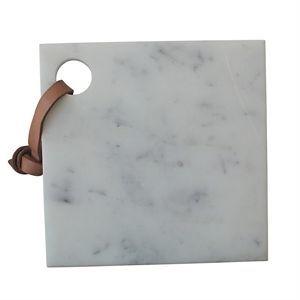 Muubs - skærebræt i marmor ( Længde 20 cm)