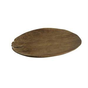 Image of   Muubs - dæk tallerken i natural teak