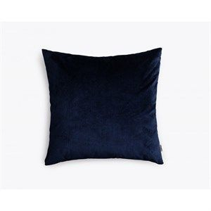 New Works pude - Valvet Cushion i marineblå