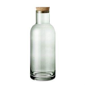 Image of   Blommingville - Flaske m/låg, Grøn glas