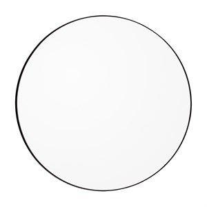 Image of   AYTM - Circum spejl Ø110 cm - klar/sort