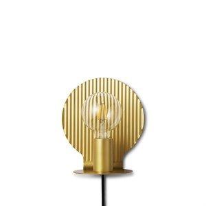 Image of   Tivoli x Normann - Plate væglampe EU - Guld