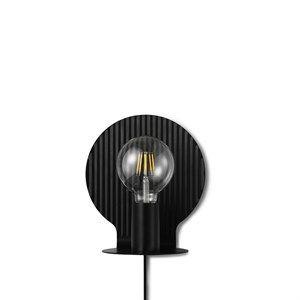 Image of   Tivoli x Normann - Plate væglampe EU - Sort