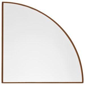 Image of   AYTM - Unity kvart cirkel spejl - Amber