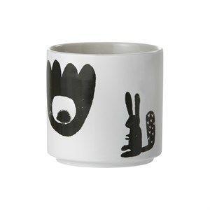 Image of   Ferm Living kop - Landscape cup i grå
