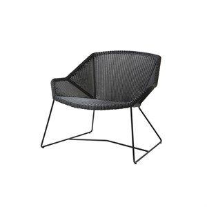 Image of   Cane-line - Breeze lounge stol - Sort