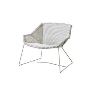 Image of   Cane-line - Breeze lounge stol - Hvid