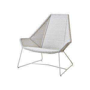 Billede af Cane-line - Breeze highback stol - Hvid