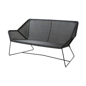 Image of   Cane-line - Breeze 2 pers. lounge sofa