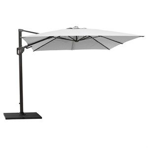 Image of   Cane-line - Parasol - Hyde luxe tilt, 3x3 m. inkl. fod