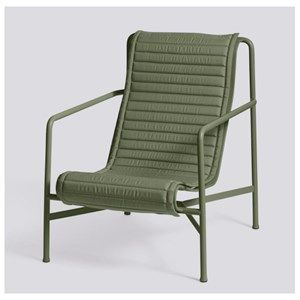 Image of   HAY - Palissade hynde til Lounge Chair High - Olive