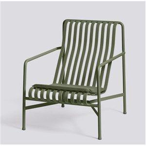 Image of   HAY - Palissade hynde til Lounge Chair høj og lav - Olive