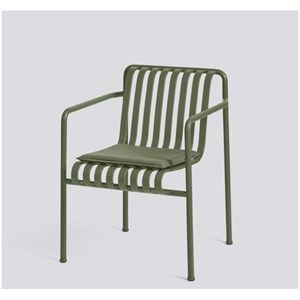 Image of   HAY - Palissade hynde til dining arm chair - Olive