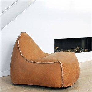 Image of   SACKit loungestol - RETROit Dunes i cognac