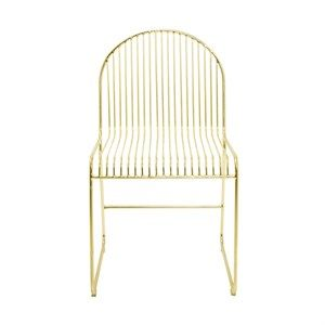 Image of   Bloomingville - Friend dining chair - guld