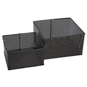 """Image of   Au Maison - Opbevaringsbox """"Storage"""" - Sort (Sæt af 2)"""