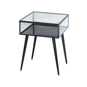 Au maison sidebord i glas med sorte ben gratis fragt for Au maison online shop
