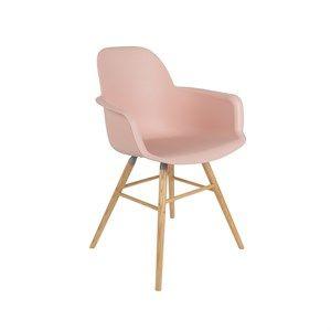 Image of   Zuiver - Stol m/armlæn - ALBERT KUIP - Old pink