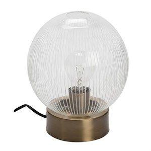 Image of   Au Maison - Bordlampe - Globe - Klar