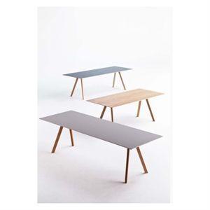Image of   Hay bord - CPH30 Copenhague table 200 x 90 cm - linoleum grey