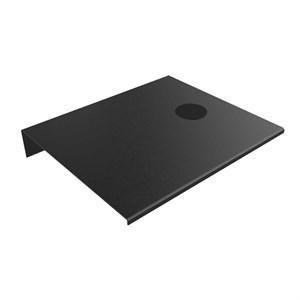 Billede af Alufit - Sengebord med wireless oplader sort, højrevendt