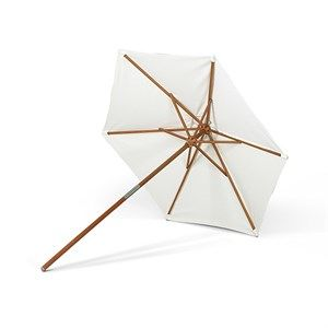 "Image of   Skagerak (Trip Trap) - ""Catania Umbrella"" Parasol - Ø270 cm - Meranti"
