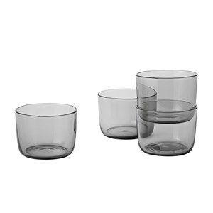 "Image of   Muuto - Corky - Drinking Glasses"" - Grå (Low)"