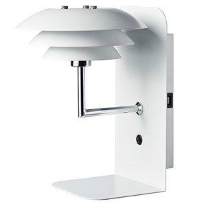 Image of   Dyberg Larsen - DL20 USB Hylde inkl. Lampe - Hvid