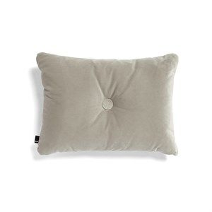 Image of   HAY - Pude - Dot Cushion Soft - Velour - Beige