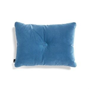 Image of   HAY - Pude - Dot Cushion Soft - Velour - Blue