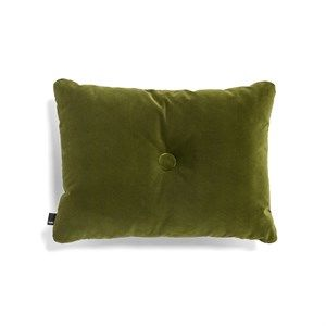 Image of   HAY - Pude - Dot Cushion Soft - Velour - Moss