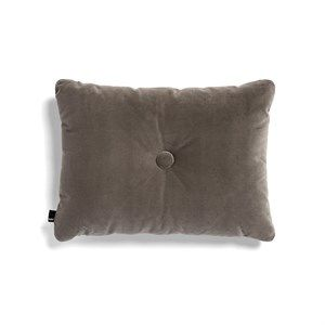 Image of   HAY - Pude - Dot Cushion Soft - Velour - Warm Grey