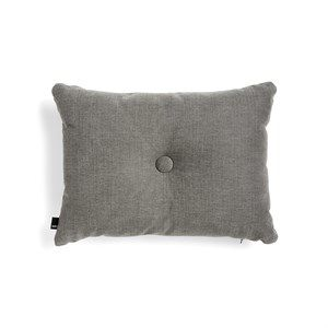 Image of   HAY - Pude - Dot Cushion - 1 Dot TINT - Mørkegrå