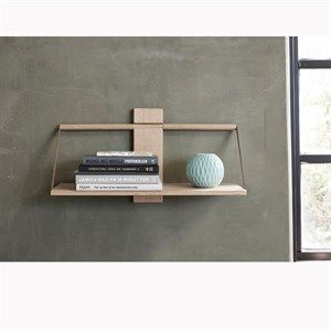 Image of   Andersen Furniture - Shelf Wood Wall - Oak - 45x20xH32 cm