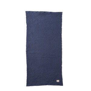 Image of   Ferm living - økologisk håndklæde blå (50 x 100 cm)