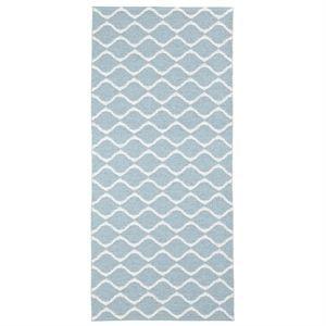 Horredsmattan måtte - Wave i blå (200 x 300)
