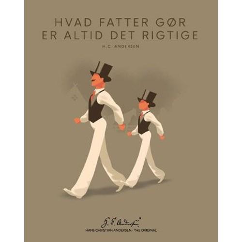 """Køb H. C. Andersen Original – """"Hvad fatter gør"""" Plakat i ramme – 40×50"""