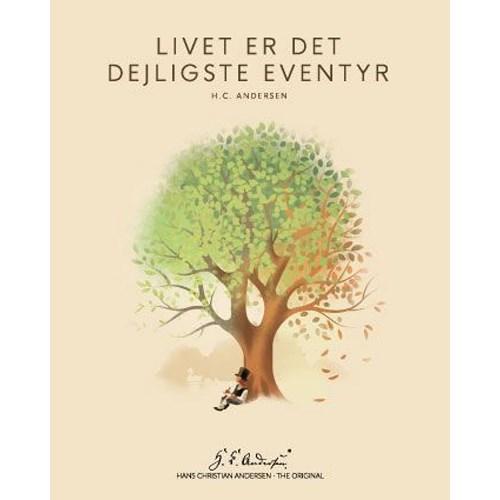"""Køb H. C. Andersen Original – """"Livet"""" Plakat i ramme – 40×50"""