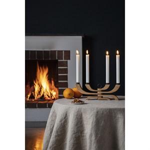 Image of   Design House Stockholm - Nordic light 4-arms lysestage - Eg