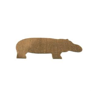 Billede af droog - Hippo dørmåtte - Brun