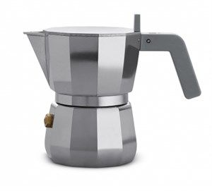 Image of   Alessi - Espresso kaffemaskine, 1 kop - Grå
