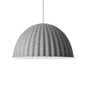"Image of   Muuto - Lampe - ""Under the bell"" - Ø55 - Grå"