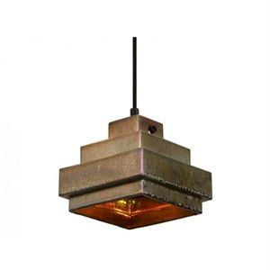 Image of   Tom Dixon lampe - Lustre Shade Ceramic Square