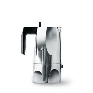 Image of   Alessi espresso kande - Ossidiana i aluminium (medium)